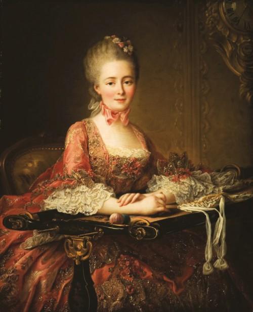 French painter François-Hubert Drouais (December 14, 1727 – October 21, 1775)