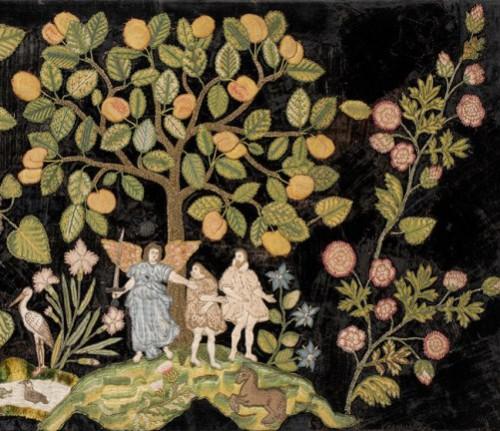 Garden of Eden, last quarter of 16th century. England