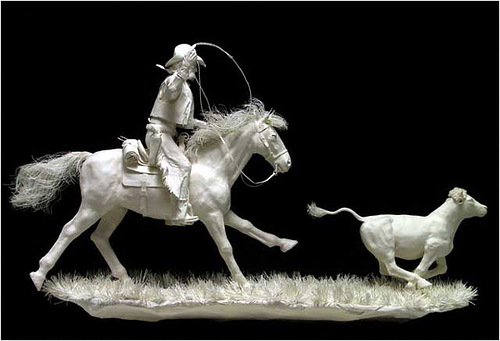 General. Paper Sculpture by American artists Allen and Patty Eckman