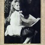 Grand Duchess Maria Nikolaevna of Russia (June 26 1899 – July 17, 1918), the third daughter of Tsar Nicholas II of Russia and Tsarina Alexandra Fyodorovna, canonized as a passion bearer by the Russian Orthodox Church