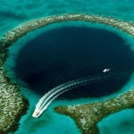 Great Blue Hole, Belize. This is incredible geographical phenomena