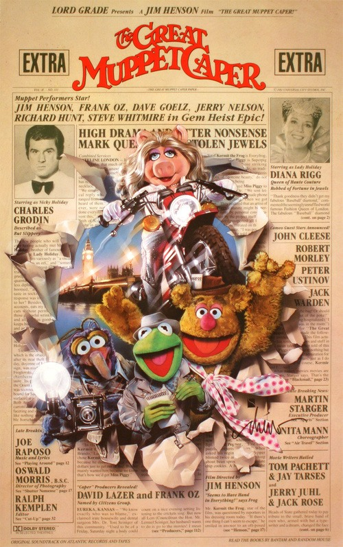 Great Muppet Movie Poster