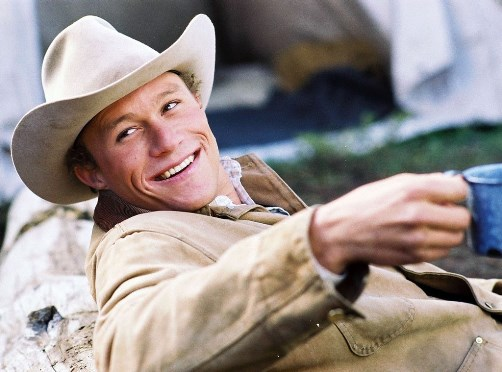 Heath Andrew Ledger. Not surprisingly, Jack Twist (Jake Gyllenhaal) fell in love with Ennis Del Mara. There is something very strong and silent, and he looks good in a hat. If only their love story ended differently.