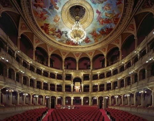 Hungarian State Opera House, Budapest, Hungary. Photo by David Leventi