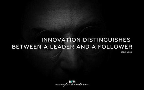 Steve Jobs Innovation Distinguishes Between a Leader and a Follower