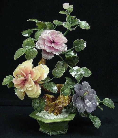 Jade flowers. Den lille Idas Blomster
