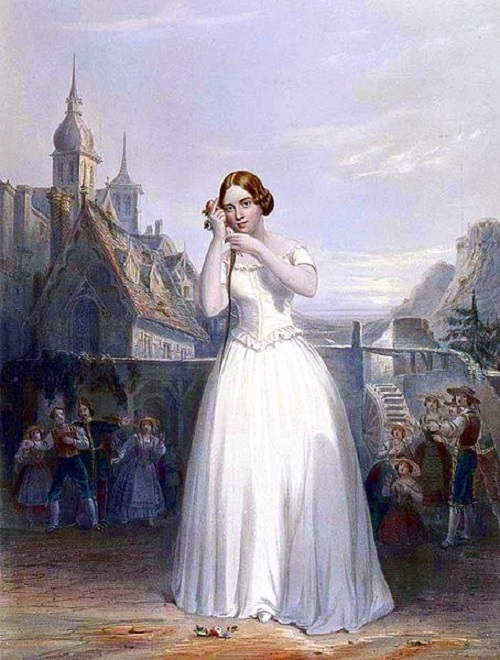 Women's Coronation Procession Jenny Lind