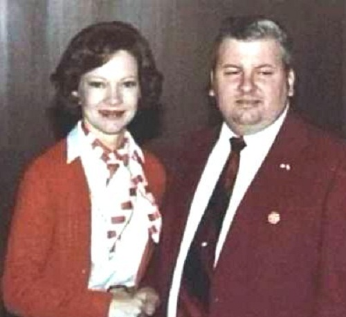 John Gacy with First Lady Rosalynn Carter in May 1978.