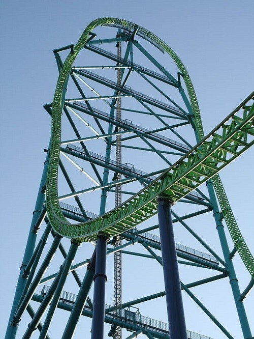 Kingda Ka, the tallest roller coaster in the world