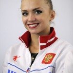 Beautiful gymnast Ksenia Dudkina