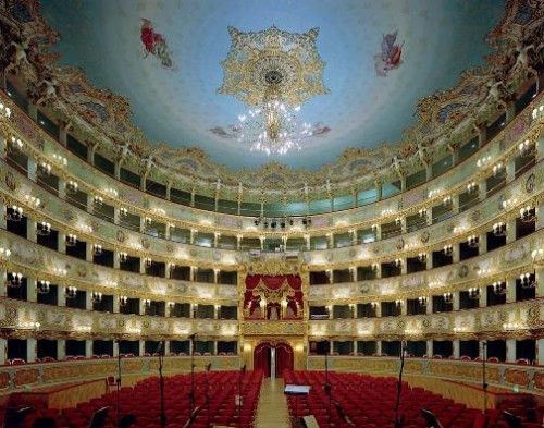 La Fenice, Venice, Italy. Photo by David Leventi
