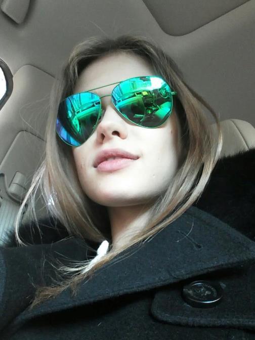 Beautiful model Lada Kravchenko