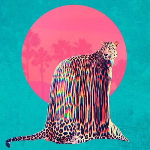 Leopard. Artwork by Turkish artist and graphic designer Ali Gulec