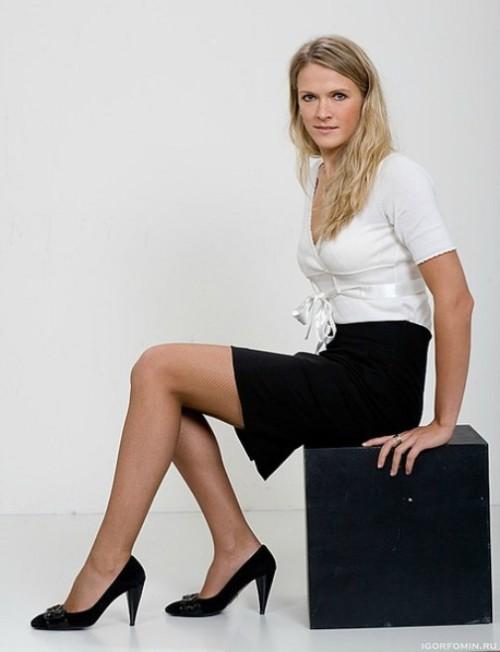 Russian volleyball player Lesya Makhno