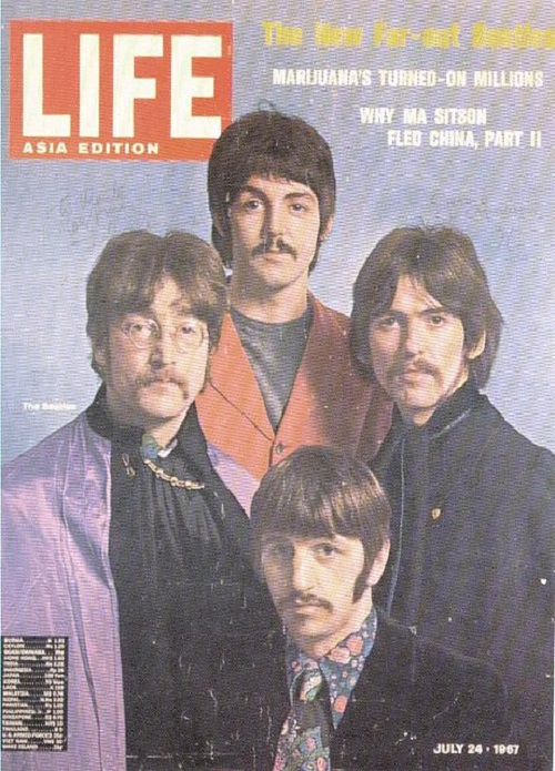 Life Asia Edition. The Beatles