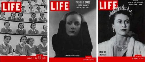 Life Magazine different editions