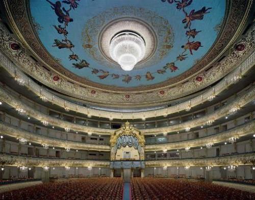 Mariinsky Theatre, Saint Petersburg, Russia. Photo by David Leventi