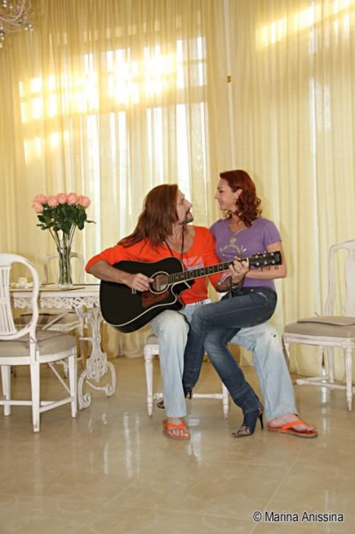 Marina Anissina with Nikita Djigurda