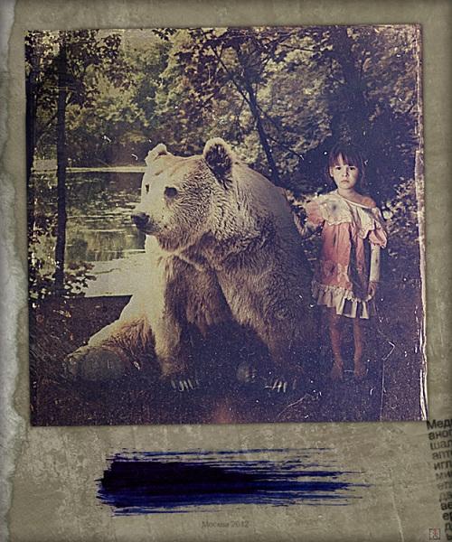 Masha and bear. Aleksandr Borisov Studio