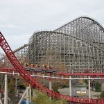Mean Streak opened as the tallest wooden roller coaster in the world in 1991
