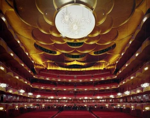Metropolitan Opera House, New York, USA. Photo by David Leventi