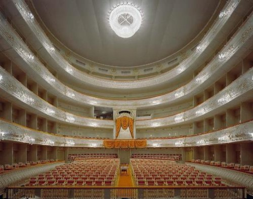 Mikhailovsky Theatre, Saint Petersburg, Russia. Photo by David Leventi