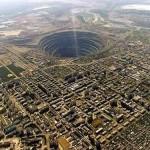 Mirny Diamond Mine, Siberia.