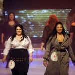 Fat and beautiful, Moran Barannes, the winner of the Israeli Miss Large beauty pageant