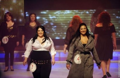 Moran Barannes, the winner of the Israeli Miss Large beauty pageant 'Fat and Beautiful'