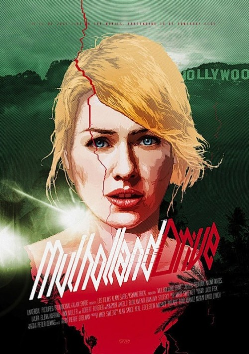 Mulholland Drive. Movie posters