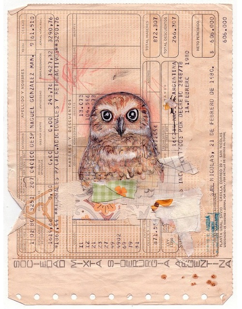 Naguel Gonzales, drawing on a ticket