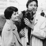 Alain Delon and Natalia Belokhvostikova in the film Teheran 43