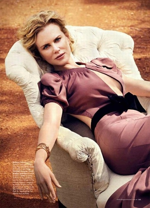 Nicole Kidman for Harper's Bazaar Australia, June-July 2012