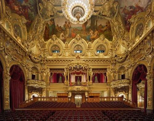 Opera de Monte Carlo, Monte Carlo, Monaco. Photo by David Leventi