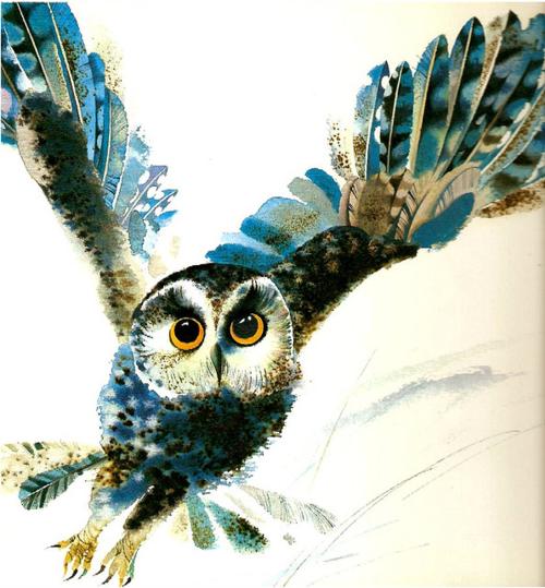 Owl by Belarusian artist Vladimir