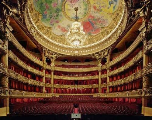 Palais Garnier, Paris, France. Stunning Opera Houses
