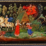 Traditional Palekh miniature painting