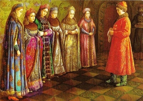 Palekh miniatures
