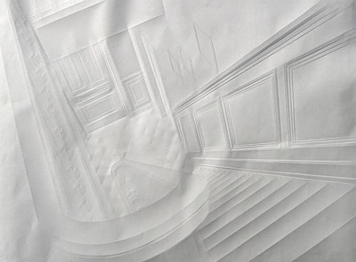 Paper art by German artist Simon Schubert