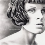 Stunning Pencil drawings by Spanish artist Debora Aguelo (Nabey)