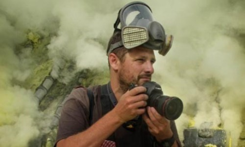 English traveling photographer and filmmaker Timothy Allen