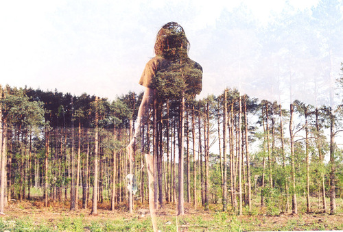 Ghost Double Exposure photographs by Oliver Morris