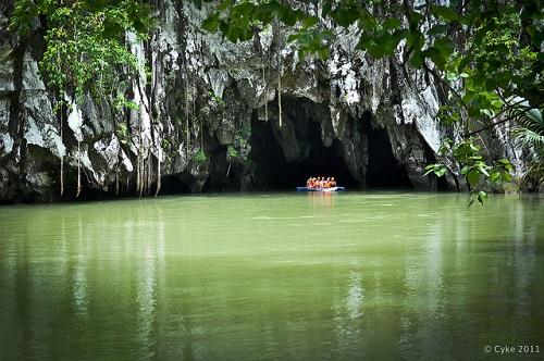 New 7 Wonders of Nature. Puerto Princesa Underground River, Philippines