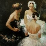 Russian ballet 21st century, Russian realist artist Anna Vinogradova