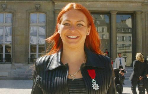 Russian ice dancer Marina Anissina