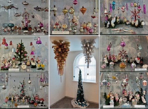 Russia's only museum of Christmas decorations - 'Klinskoye podvorie'