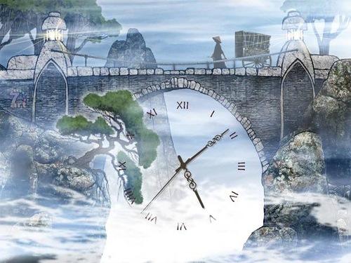 Sky tree clock