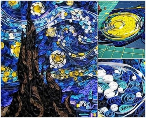 Van Gogh's Starry Night by Susan Myers