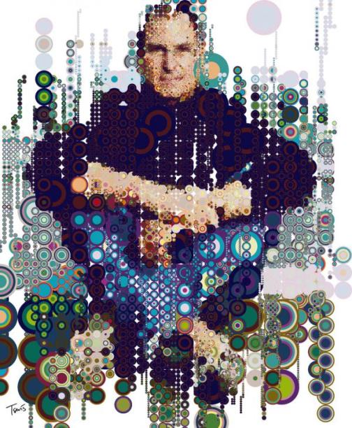 iHero Steve Jobs by Greek designer Charis Tsevis