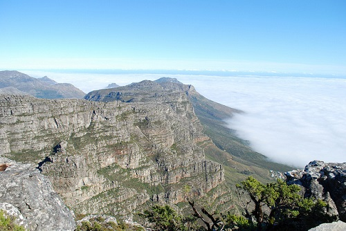 New 7 Wonders of Nature. Table Mountain, South Africa